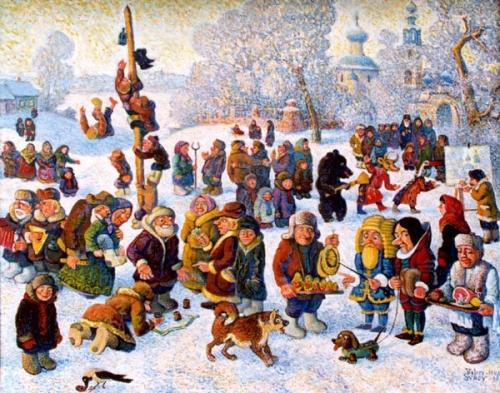 Масленница.  Проводы русской зимы