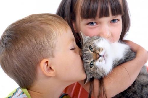 Роль животных в развитии ребенка