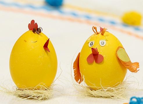Детские поделки на Пасху: пасхальные цыплята, пасхальные курочки