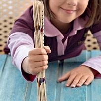 Как сделать палочки для игры Микадо