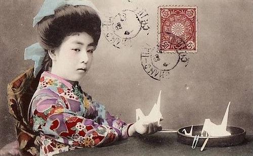 История оригами в Японии