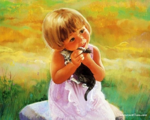 Дети на картинах