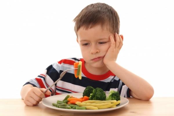 Ребенок не ест овощи?