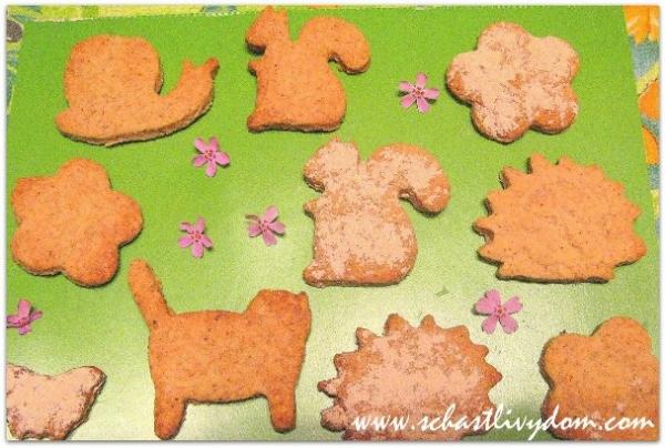 Рецепт детского печенья. Печем с детьми и для детей