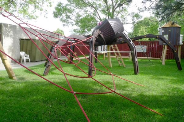 Оригинальный дизайн детских площадок