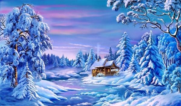 Зимние пословицы и поговорки