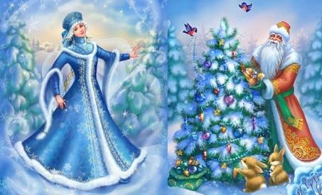 Короткие новогодние стихи для детей