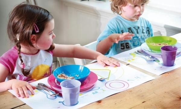 Этикет за столом для детей