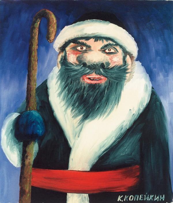 Черный Дед Мороз или черный детский юмор