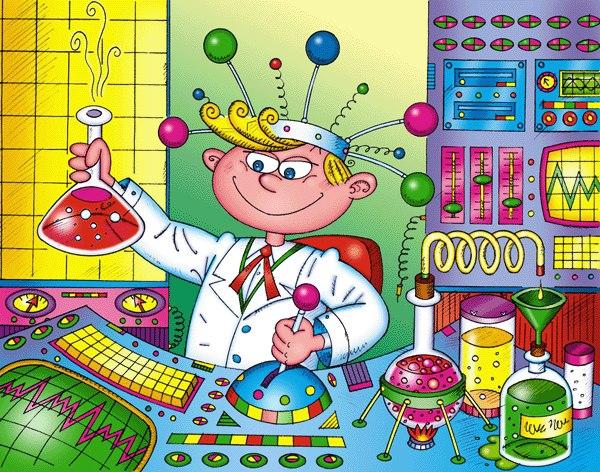 Юный исследователь. Яйцо-водолаз и волшебные чернила