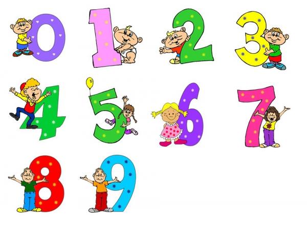 Арифметика для малышей в стихах. Загадки про цифры