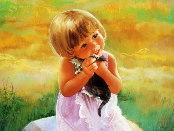 Картины счастливого детства