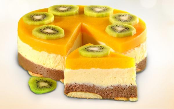 Торт «Манный» (без выпечки)