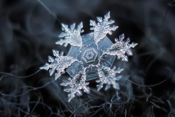 Волшебные фотографии снежинок - 2